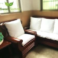 bay window couch custom made duck down feather sofa cushion inserts back cushion inner seat floor