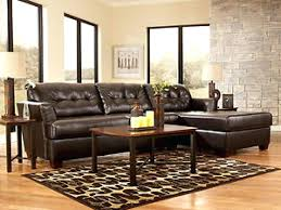 Brown Leather Couch Living Room Dark Brown Leather Sofa A Living