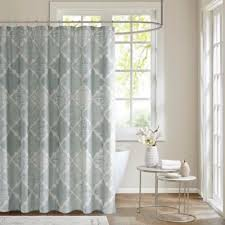beautiful shower curtains. madison park cadence cotton sateen shower curtain in aqua beautiful curtains
