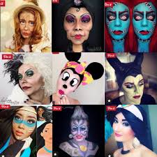 these disney makeup looks are all super cool and will help you stand out in the