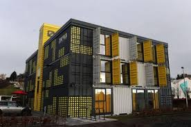 container office building. Wonderful Building District 10 Dundee The First Commercial Building Constructed From Shipping  Containers  Intended Container Office Building