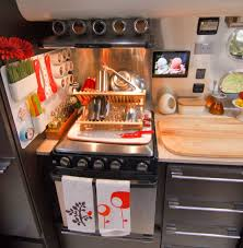Camper Trailer Kitchen Designs Peek Inside Our Airstream A Just 5 More Minutes