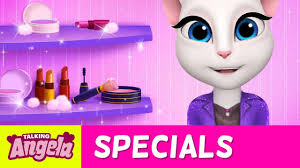 talking angela one minute makeup challenge
