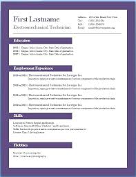 Templates In Ms Word 2010 Free Resume Template Microsoft Word 2010 On In Templates Nice For