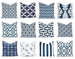 Etsy Throw Pillows Navy And White Pillow Covers Navy Blue Pillow Covers Blue