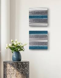 grey and teal rooms silver wall art