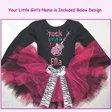 Rock Star Tutu Set Rock Star Birthday Tutu Rocker Girls