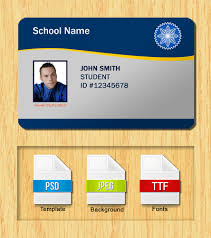 Id Card Templates Free Download Id Card Template