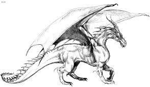 Small Picture Scary Dragon Coloring Pages Get Coloring Pages