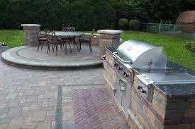 Kitchen Patio Baron Landscaping A Outdoor Kitchen Contractor Cleveland