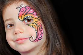 erfly face painting designs for kids pink erfly making eye as of erfly