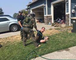 Yelm Drug Suspect Arrested After He Barricades Self In Home Swat