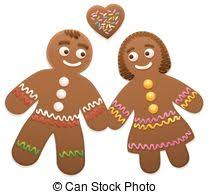 gingerbread man and woman. Interesting And Gingerbread Couple Man Woman Love To And N