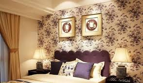 Purple And Yellow Bedroom Purple Bedroom Simple European Style Interior Design