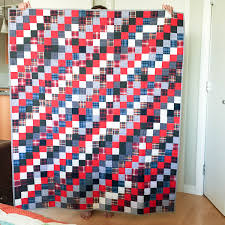 A Birthday Quilt, Or What To Do With Old Plaid Shirts | Sewaholic & quilt made with old plaid shirts-1-4 Adamdwight.com