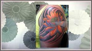 удивительно нежный и прекрасный лотос в тату искусстве
