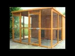 outside dog kennels for