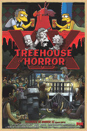 The Simpsonsu0027 Treehouse Of Horror  Wikisimpsons The Simpsons WikiSimpsons Treehouse Of Horror 14
