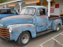 1953 Chevy Pickup Truck 5 window 3100 model short box Rat rod ...
