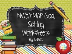 testing goals graphs and goal setting form student led  nwea map goal setting worksheets editable