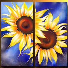 sunflowers i modern canvas art wall decor floral oil painting wall art with stretched on sunflower wall art canvas with sunflowers i modern canvas art wall decor floral oil painting wall