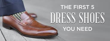 The First 5 Dress Shoes You Need To Start A Shoe Collection ...