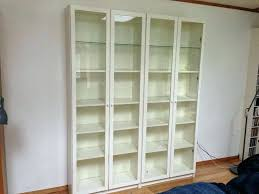 bookcases bookcase with glass doors ikea white billy bookshelf