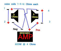 need amp diagram to run hifonics hfi1000 1d hfi 1000 1d fixya what s the best way to hook up 2 hifonics hdl12d4 subwoofers to a mono amp