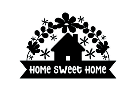Home icons and vector packs for sketch, adobe illustrator, figma and websites. Home Sweet Home Svg Cut File By Creative Fabrica Crafts Creative Fabrica