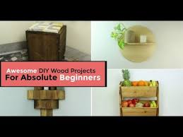 10 awesome diy wood projects for