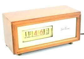 retro desk clock modern sd read clocks small vintage