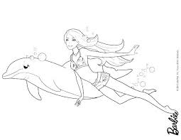 Coloring Pages Barbie Fairy Free Barbie Printable Coloring Pages