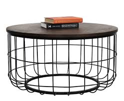 wire coffee table. Industrial Wire Coffee Table N
