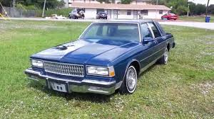 1988 Chevrolet Caprice LS Original Condition For Sale - YouTube