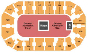 Silverstein Eye Centers Arena Seating Chart Center Online Charts Collection