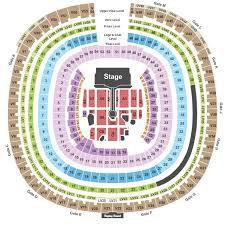 Qualcomm Stadium Tickets And Qualcomm Stadium Seating Charts
