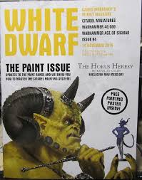 Citadel Painting System Chart White Dwarf 94 Review Its Effectively A Painting Guide