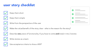 Agile User Story Acceptance Criteria Template How To Write Good User Stories In Agile Software Development