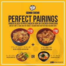 Our new Perfect Pairings will surely... - Genki Sushi Philippines