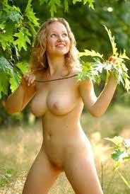 Healthy young nude girl