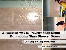 peaceably shower doors clean