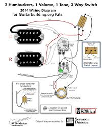 guitar wiring diagrams 2 pickups on bass guitar pickup wiring 2 Pickup Guitar Wiring guitar wiring diagrams 2 pickups on guitarbuilding org 3 wire wiring diagram january 2014 2 pickup guitar wiring diagram
