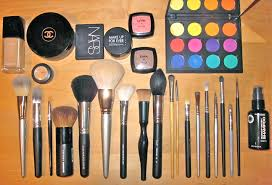makeup brushes for work