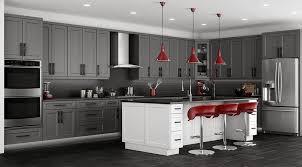 Stone Grey Shaker Kitchen Cabinets | RTA Cabinet Store