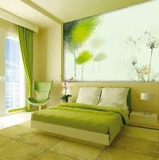 Small Picture Modern Day Green White Bedroom Decoration With Amazing Ornament By