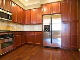 Solid Wood Floor In Kitchen Oak Kitchen Cabinets Pictures Ideas Tips From Hgtv Hgtv