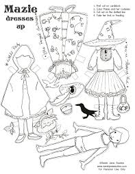 Small Picture Halloween Witch Cut Out Paper Coloring Coloring Pages