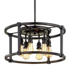 romaro row 6 light aged bronze dinette chandelier