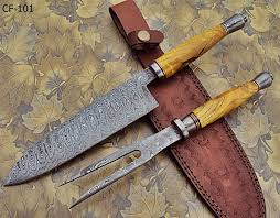DamascusknivesDamascus Steel Kitchen Knives