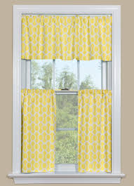 Geometric Patterned Curtains Yellow Kitchen Curtains With A Geometric Design